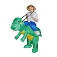 Buy cheap TOLOCO  Inflatable Dinosaur T-REX Adult Fancy Dress Costume (green2) from wholesalers