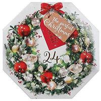 Buy cheap Wreath Advent Calendar Christmas Scented Tea Light Candles Gift Set from Yankee Candle product