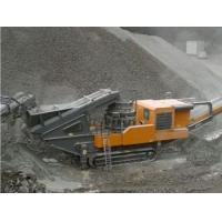 Tracked mobile cone crusher