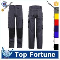Buy cheap cotton ripstop work pants,uniforms construction workwear trousers,quality professional work pants from wholesalers