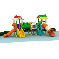 Buy cheap Kids Colorful Happy Outdoor Playground Equipment for Amusement Park product