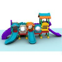 Buy cheap Outdoor Playground Type and plastic Material slide commercial use product