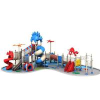 Buy cheap Affordabl big set dinosaur design outdoor kid playground for home or garden product