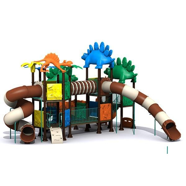Quality LLDPE Plastic Type Children New Design Outdoor Playground Equipment for City Parks for sale
