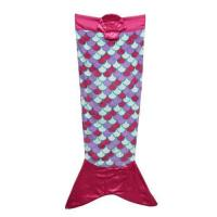 Buy cheap Printed Mermaid Blanket With Satin Tail from wholesalers