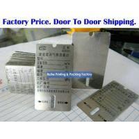 Buy cheap E1028 Blank Engraving Tags from wholesalers