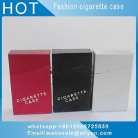Buy cheap New product aluminium metal smoke cigarette tobacco box case holder from wholesalers