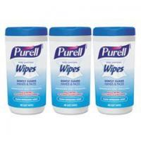 Buy cheap PURELL Hand Sanitizing Wipes, 5.7 x 7 1/2, Clean Refreshing Scent, 40/Canister,18/Ctn from wholesalers