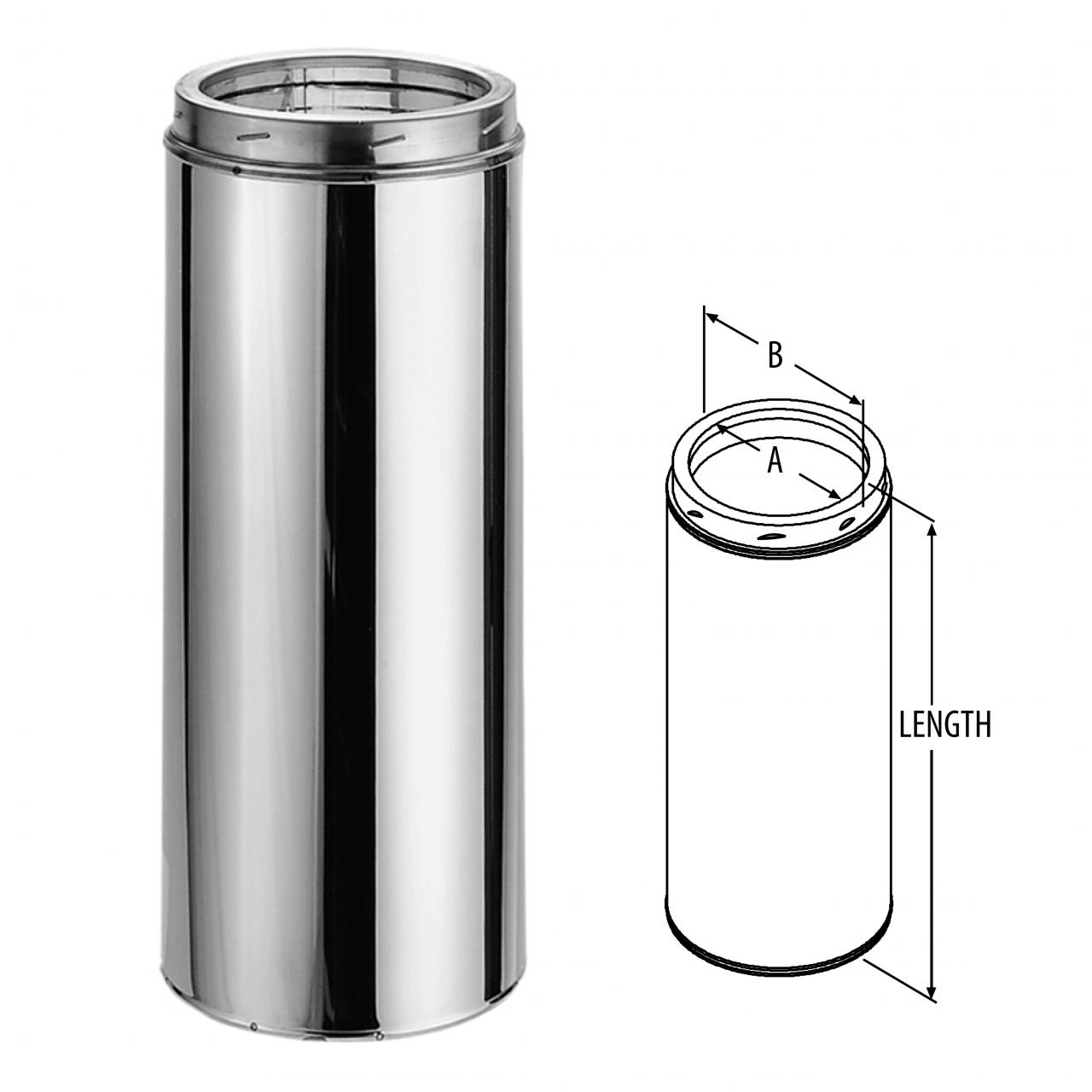 Buy cheap DuraTech Chimney Pipe - Stainless Steel & Galvalume from wholesalers