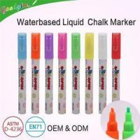 Buy cheap Chalk Pens 8 Pieces Liquid Reversible Tips from wholesalers