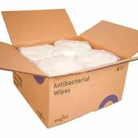 Buy cheap Zogics Antibacterial Wipes, EPA Registered Gym Cleaning Wipes 800 Wipes/Roll, 4 Rolls/Case from wholesalers