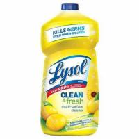 Buy cheap Lysol Clean & Fresh Multi-Surface Cleaner, Lemon & Sunflower, 40oz from wholesalers