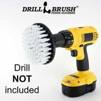 Buy cheap Softer Bristle Scrub Brush 5 Round with Power Drill Attachment from wholesalers