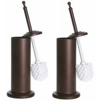 Buy cheap Intuition Bronze Toilet Brush and Holder, 2 Pack from wholesalers