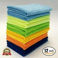 Buy cheap MaxLit- MicroFiber Cleaning Cloth 12 PC Color Pack, 16 x 16 in. from wholesalers