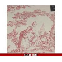 Buy cheap Toile de Jouy Percale Double Duvet Pink + 2 pillowcases from wholesalers