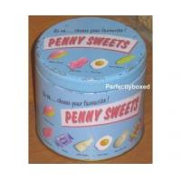 Buy cheap Wiscombe Penny Sweets Storage Tin Retro tea coffee sugar from wholesalers