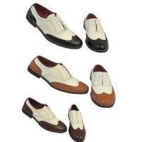 Shoes Vintage 1920's 30's 40's mens Two Tone Wing tip Spectator Jazz Gatsby Brogues