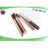 Buy cheap M8 Tungsten Copper EDM Drill Electrodes , Rod Shape Copper Electrode For EDM from wholesalers