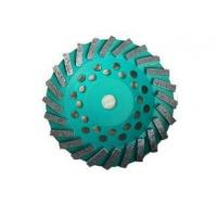Buy cheap 180mm Diamond Grinder Wheel Concrete / Floor Grinding Wheel Metal Bond from wholesalers