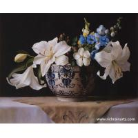 Buy cheap Lily Flowers Oil Painting from wholesalers