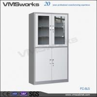 Buy cheap Steel Cupboards Metal 4 Swing Door Locking Office Storage Cabinet With Locks And Keys from wholesalers