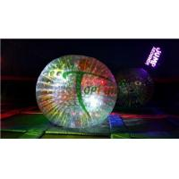 Buy cheap Balls / Rollers Name:1.0mm 3m Inflatable Led Shining Zorb Ball from wholesalers