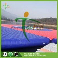 Buy cheap sport game toys Name:20*20m Airtight Inflatable Water Mattress from wholesalers