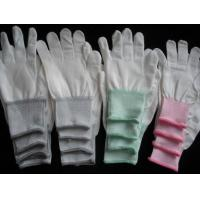 Buy cheap CR0404-1 Cleanroom high qualiy Nylon glove(Non-PU Coated) from wholesalers