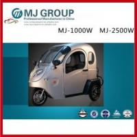 Buy cheap 3 wheels electric vehicle electric tricycles with good quality,MJ-1000W MJ-2500W from wholesalers