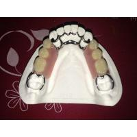 Buy cheap Removable restorations Cobalt Chrome Casting Framework denture from wholesalers