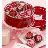 Buy cheap Holidays Sweetheart Belgian Chocolate Covered Oreo Tin from wholesalers