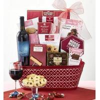 Buy cheap Holidays True Love Valentine Wine Gift Basket from wholesalers