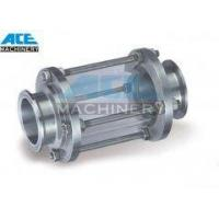 Sanitary Fittings Sight Glass with TriClamp ends.