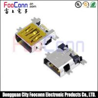 Buy cheap MINI USB Connector 10Pin Female SMT Type from wholesalers