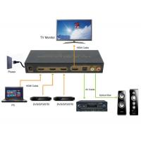 Buy cheap HDMI Switch LINK-MI LM-SW301-Audio PIP 3 Port PIP HDMI Audio Extractor from wholesalers
