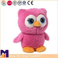 Buy cheap Stuffed Animal Plush Toys Custom Red Stuffed Owl Toy from wholesalers