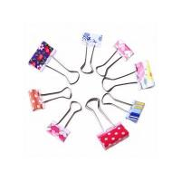 Buy cheap Printed metal binder clips from wholesalers
