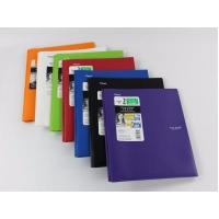 Buy cheap POLY PEPORT COVER 2 pocket & prong folder with stay-put tabs from wholesalers