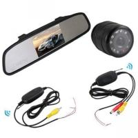 Buy cheap 4.3inch wireless rear view mirror system from wholesalers
