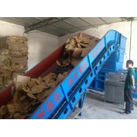 Buy cheap Semi-automatic Horizontal Hydraulic waste paper baler machine from wholesalers