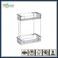 Buy cheap stainless steel dual tiers soap basket for shower from wholesalers