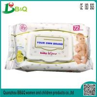 Buy cheap Cheap Baby Wipes Custom Printed Wet Tissue Wipes for Babies from wholesalers