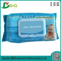 Buy cheap organic baby wipes 80pcs/bag wet wipes for baby skin care from wholesalers