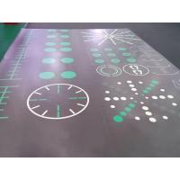 Buy cheap Interlocking PVC Floor Tiles (Exercise Mats and Gym Flooring with Custom Pattern) from wholesalers