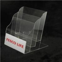 Buy cheap Acrylic Brochure Holder Product model:H6004 from wholesalers