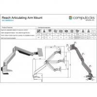 Buy cheap SurfaceEnclosureKiosk Cling Reach Universal Tablet Articulating Arm from wholesalers
