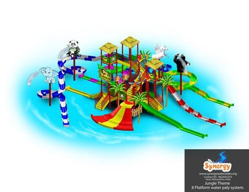 Quality 8 Platform Water Play System for sale