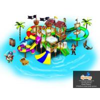 Buy cheap 5 platform Pirate Theme Water Play System product