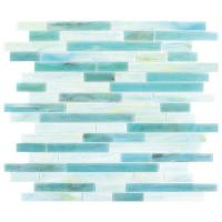 Buy cheap blue glass tile from wholesalers